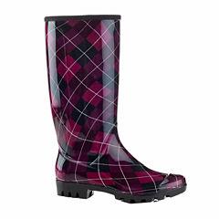 Henry Ferrera Midnight Womens Water Resistant Rain Boots