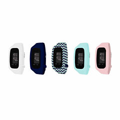 B-fit Womens Activity Tracker & 5pc. Interchangeable Band Set-Ba2226bk607-078