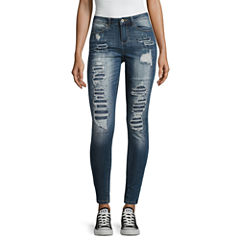 Vanilla Star Skinny Fit Jeans-Juniors