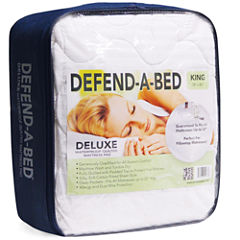Classic Brands Deluxe Waterproof Allergen Barrier Mattress Protector