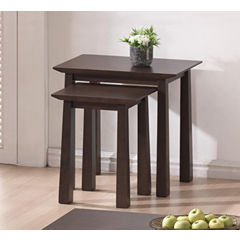 Baxton Studio Havana 2-pc. Nesting Tables