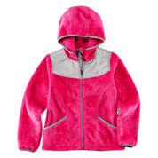 Vertical 9 Hooded Fleece Jacket - Girls 7-16