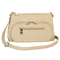 Mondo Small Crushed Nylon Crossbody Bag