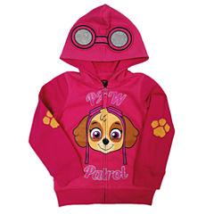 Paw Patrol Long-Sleeve Pink Costume Hoodie - Toddler Girls 2t-4t