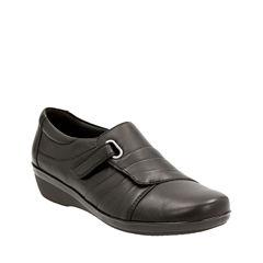 Clarks Everlay Luna Womens Slip-On Shoes
