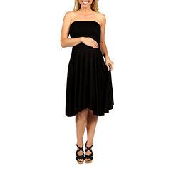 24/7 Comfort Apparel Irresistible Empire Waist Dress-Plus Maternity