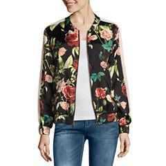 i jeans by Buffalo Floral Bomber Jacket