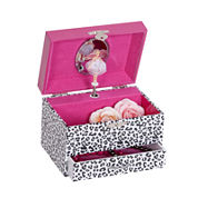 Mele & Co. Jess Girls Leopard-Pattern Jewelry Box