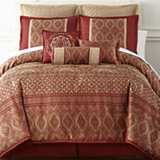 Home Expressions™ Allure 7-pc. Comforter Set