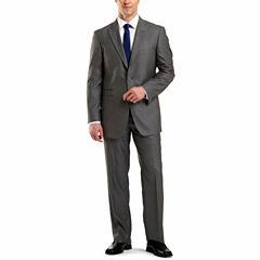 JF J. Ferrar® Gray Sharkskin Suit Separates - Classic