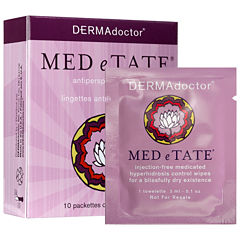 DERMAdoctor Med E Tate Antiperspirant Wipes