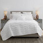 JCPenney Home™ Cotton Classics Jardin Reversible Quilt & Accessories