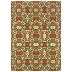 Covington Home Montego Sand Dollar Indoor/Outdoor Rectangular Rug