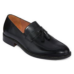 Stafford® Arnold Mens Leather Tassel Loafers