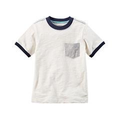 Carter's Short Sleeve Pocket T-Shirt-Baby Boys
