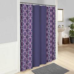 Vue Piper Shower Curtain