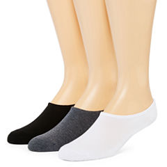 Converse All Star Mens 3-pk. No-Show Socks