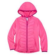 Xersion™ Hybrid Hooded Jacket - Girls 7-16