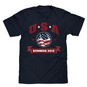 Short-Sleeve USA Summer 2016 Tee
