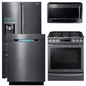 Samsung 4-Door French-Door Kitchen Package