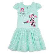 Disney® Pink Minnie Knit Dress - Girls 7-16