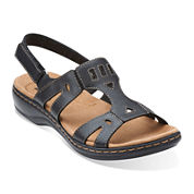 Clarks® Leisa Annual Leather Sandals
