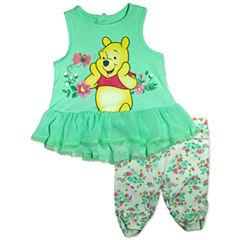 2-pc. Winnie the Pooh Legging Set-Baby Girls