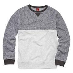 Arizona Long Sleeve French Terry Sweatshirt Boys 8-20 and Husky