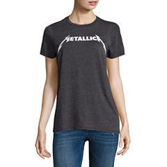 Metallica Graphic T-Shirt- Juniors