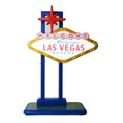 Light-Up Las Vegas Sign