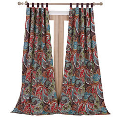 Greenland Home Fashions Tivoli 2-pk. Tab-Top Curtain Panels