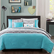 Intelligent Design Zara Geometric Comforter Set