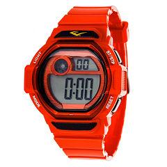 Everlast Red Digital Strap Watch