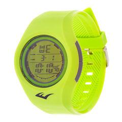 Everlast Neon Green Strap Watch