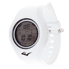 Everlast White Digital Strap Watch