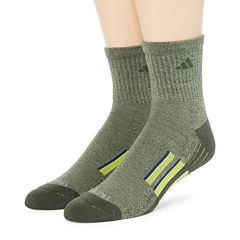 adidas® Mens 2-pk. climalite® Performance Short Crew Socks