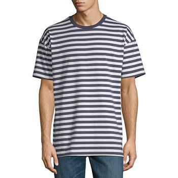 Arizona Oversized Mens Crew Neck Short Sleeve T shirt