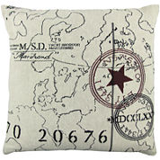 Park B. Smith® World Square Decorative Pillow