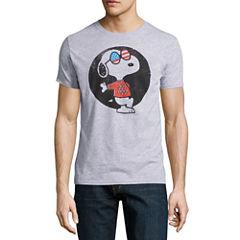 Short Sleeve Peanuts Graphic T-Shirt