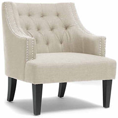 Baxton Studio Millicent Armchair