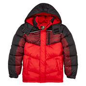 Xersion® Puffer Long-Sleeve Jacket - Toddler Boys 2t-4t