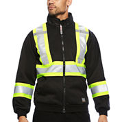 Work King® High Visibility Hooded Jacket