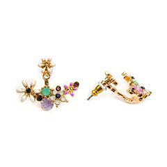 Decree Multi Color Stud Earrings
