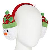 Mixit™ Knit Snowman Earmuffs