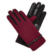 Isotoner® smarTouch® Tribal-Embossed Gloves