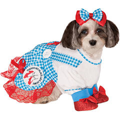 The Wizard of Oz Dorothy Dog Costume - X-Large