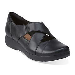Clarks® Idella Honor Leather Slip-On Shoes