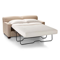 Sleeper Possibilities Track-Arm Full Loveseat