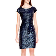 Speechless® Cap-Sleeve Sequin Party Dress