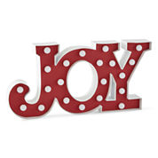 North Pole Trading Co. Joy Marquee Sign